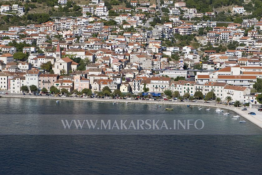 Makarska -typical Dalmatia by vision, Europe by offer